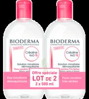 Crealine Ts H2o Solution Micellaire Sans Parfum Nettoyante Apaisante 2fl/500ml à BIGANOS