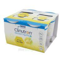 Clinutren Dessert 2.0 Kcal Nutriment Vanille 4cups/200g à BIGANOS