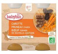 Babybio Pot Carotte Pruneau Boeuf à BIGANOS