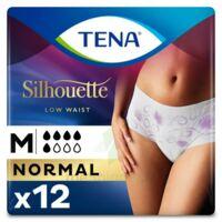 Tena Lady Silhouette Slip Absorbant Blanc Normal Médium Paquet/12 à BIGANOS