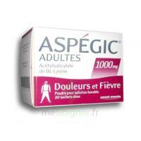 ASPEGIC ADULTES 1000 mg, poudre pour solution buvable en sachet-dose 20 à BIGANOS