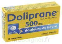 DOLIPRANE 500 mg Comprimés 2plq/8 (16) à BIGANOS