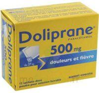 DOLIPRANE 500 mg Poudre pour solution buvable en sachet-dose B/12 à BIGANOS