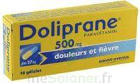 DOLIPRANE 500 mg Gélules B/16 à BIGANOS