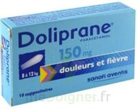 DOLIPRANE 150 mg Suppositoires 2Plq/5 (10) à BIGANOS