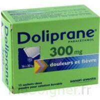 DOLIPRANE 300 mg Poudre pour solution buvable en sachet-dose B/12 à BIGANOS
