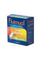 FLUIMUCIL EXPECTORANT ACETYLCYSTEINE 200 mg ADULTES SANS SUCRE, granulés pour solution buvable en sachet édulcorés à l'aspartam et au sorbitol à BIGANOS