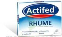 ACTIFED RHUME, comprimé à BIGANOS