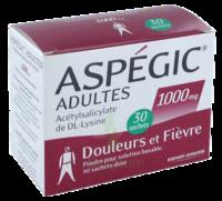 ASPEGIC ADULTES 1000 mg, poudre pour solution buvable en sachet-dose 30 à BIGANOS