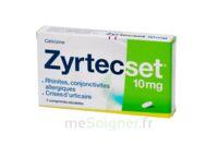 ZYRTECSET 10 mg, comprimé pelliculé sécable à BIGANOS
