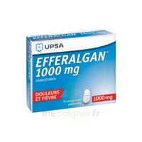 Efferalgan 1000 mg Comprimés pelliculés Plq/8 à BIGANOS