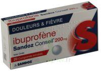 IBUPROFENE SANDOZ CONSEIL 200 mg, comprimé enrobé à BIGANOS
