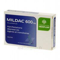 MILDAC 600 mg, comprimé enrobé à BIGANOS