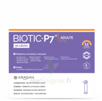 Aragan Biotic P7 Adulte Poudre 10 Sticks à BIGANOS