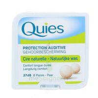 QUIES PROTECTION AUDITIVE CIRE NATURELLE 8 PAIRES à BIGANOS