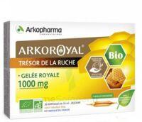 Arkoroyal Gelée Royale Bio 1000 Mg Solution Buvable 20 Ampoules/10ml à BIGANOS