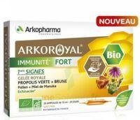 Arkoroyal Immunité Fort Solution Buvable 20 Ampoules/10ml à BIGANOS