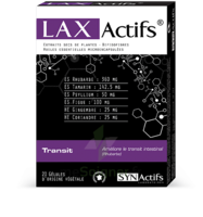 Synactifs Laxatifs Gélules B/20 à BIGANOS