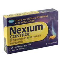 NEXIUM CONTROL 20 mg Cpr gastro-rés Plq/7 à BIGANOS