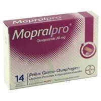 Mopralpro 20 Mg Cpr Gastro-rés Film/14 à BIGANOS
