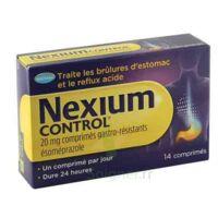NEXIUM CONTROL 20 mg Cpr gastro-rés Plq/14 à BIGANOS