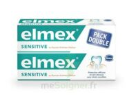 ELMEX SENSITIVE DENTIFRICE, tube 75 ml, pack 2 à BIGANOS