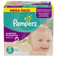 PAMPERS ACTIVE FIT T5 MEGA PACK 68 à BIGANOS