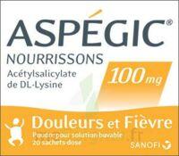 ASPEGIC NOURRISSONS 100 mg, poudre pour solution buvable en sachet-dose à BIGANOS