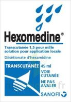 HEXOMEDINE TRANSCUTANEE 1,5 POUR MILLE, solution pour application locale à BIGANOS