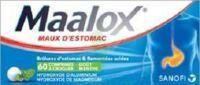 Maalox Hydroxyde D'aluminium/hydroxyde De Magnesium 400 Mg/400 Mg Cpr à Croquer Maux D'estomac Plq/60 à BIGANOS