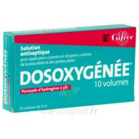 DOSOXYGENEE 10 VOLUMES, solution pour application cutanée en récipient unidose à BIGANOS
