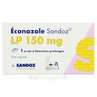 Econazole Sandoz L.p. 150 Mg, Ovule à Libération Prolongée à BIGANOS