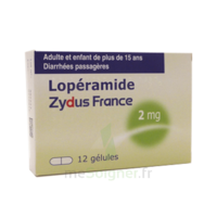 LOPERAMIDE ZYDUS FRANCE 2 mg, gélule à BIGANOS