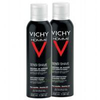 VICHY mousse à raser peau sensible LOT à BIGANOS