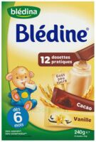 Blédine Vanille/Cacao 12 dosettes de 20g à BIGANOS