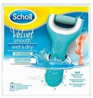 Scholl Velvet Smooth Wet&Dry Râpe électrique rechargeable à BIGANOS