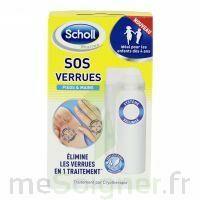 Scholl SOS Verrues traitement pieds et mains à BIGANOS
