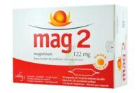 MAG 2 122 mg S buv en ampoule sans sucre édulcoré à la saccharine sodique 30Amp/10ml à BIGANOS