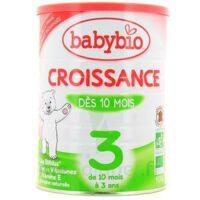 BABYBIO CROISSANCE 3, bt 900 g à BIGANOS