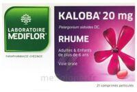 KALOBA 20 mg Cpr pell Plq/21 à BIGANOS