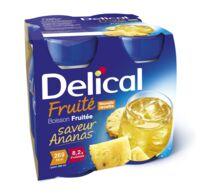 DELICAL BOISSON FRUITEE Nutriment ananas 4Bouteilles/200ml à BIGANOS