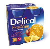 DELICAL BOISSON FRUITEE Nutriment multi fruits 4Bouteilles/200ml à BIGANOS