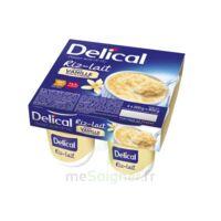 DELICAL RIZ AU LAIT Nutriment vanille 4Pots/200g à BIGANOS