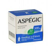 ASPEGIC 500 mg, poudre pour solution buvable en sachet-dose 30 à BIGANOS