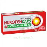 Nurofencaps 400 Mg Caps Molle Plq/10 à BIGANOS