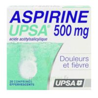 ASPIRINE UPSA 500 mg, comprimé effervescent à BIGANOS