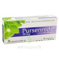 PURSENNIDE 20 mg, comprimé enrobé à BIGANOS