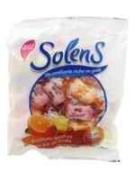 Solens bonbons tendres aux jus de fruits sans sucres à BIGANOS