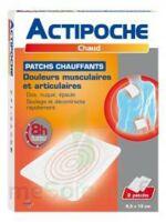Actipoche Patch chauffant douleurs musculaires B/2 à BIGANOS