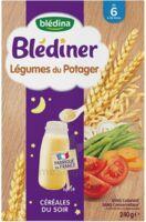 Blédîner Céréales Légumes du potager 240g à BIGANOS